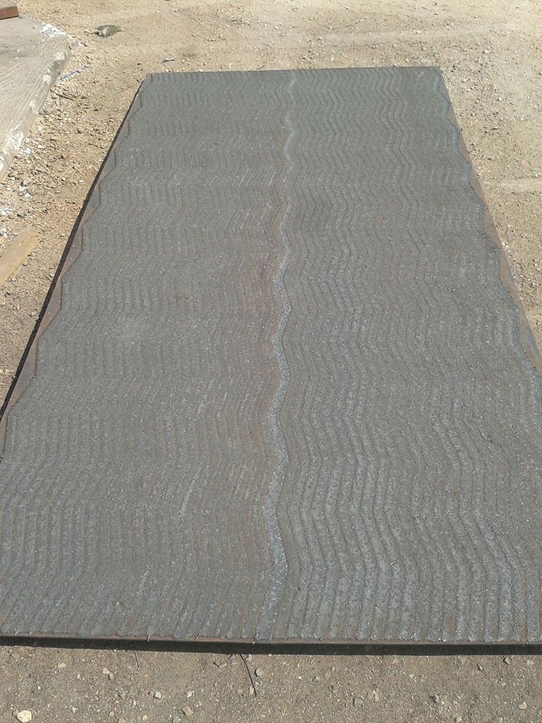 Deemex Wave Pattern Plates